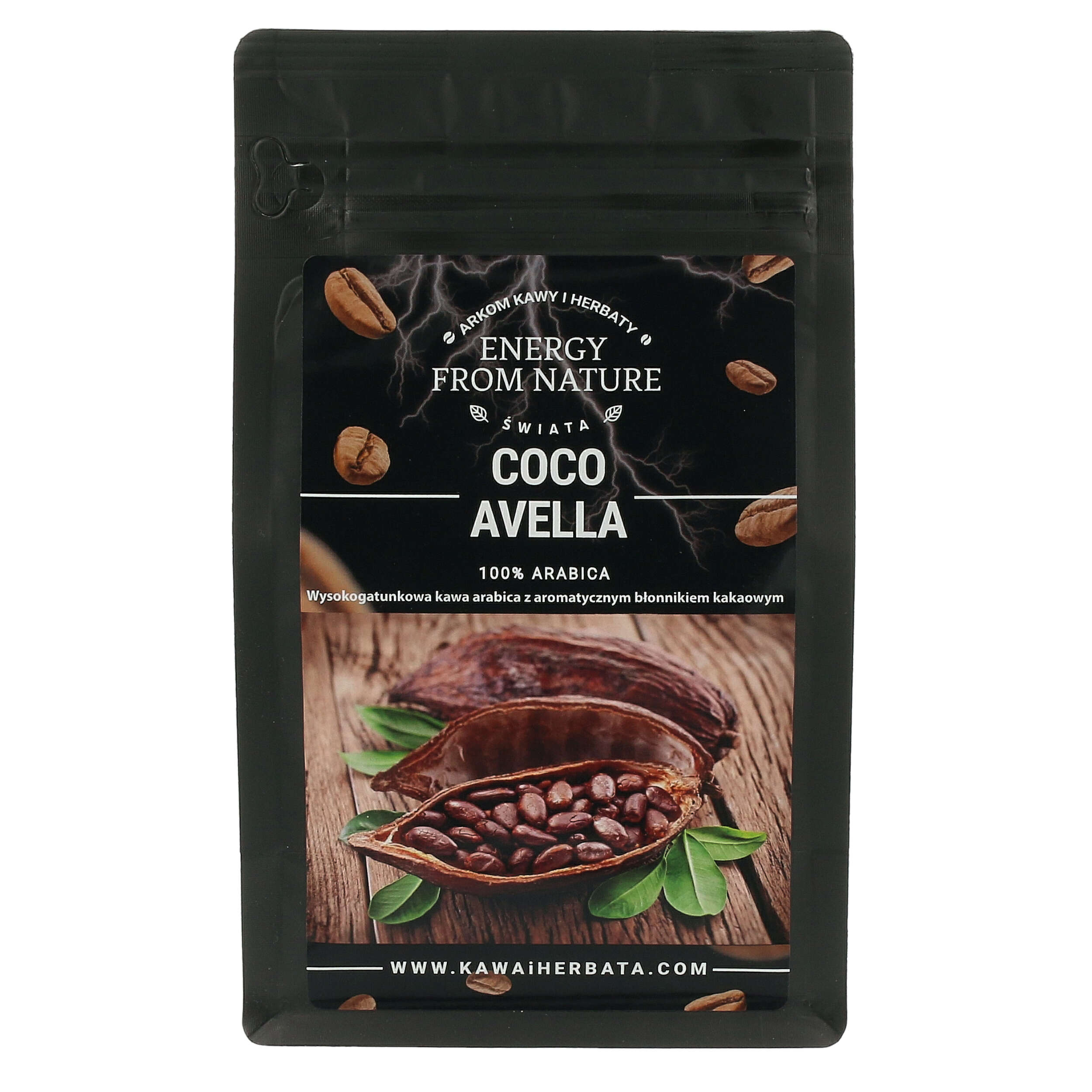 Coco Avella - Energy From Nature - 200g + próbka gratis
