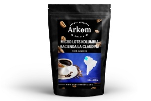 Arabica Micro-Lot Kolumbia Hacienda la Claudina